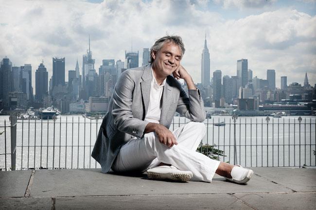 andrea bocelli new york