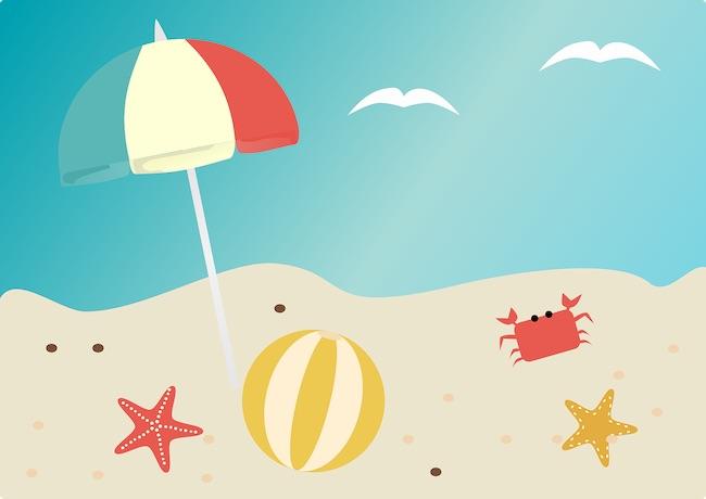beach disegno