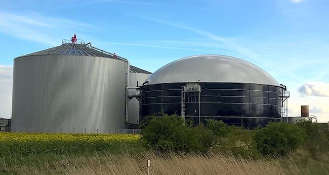 contenitore biogas