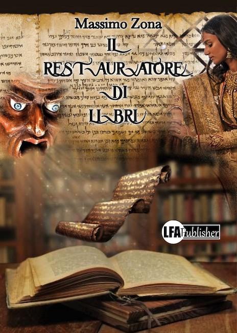 copertina il restauratore di libri