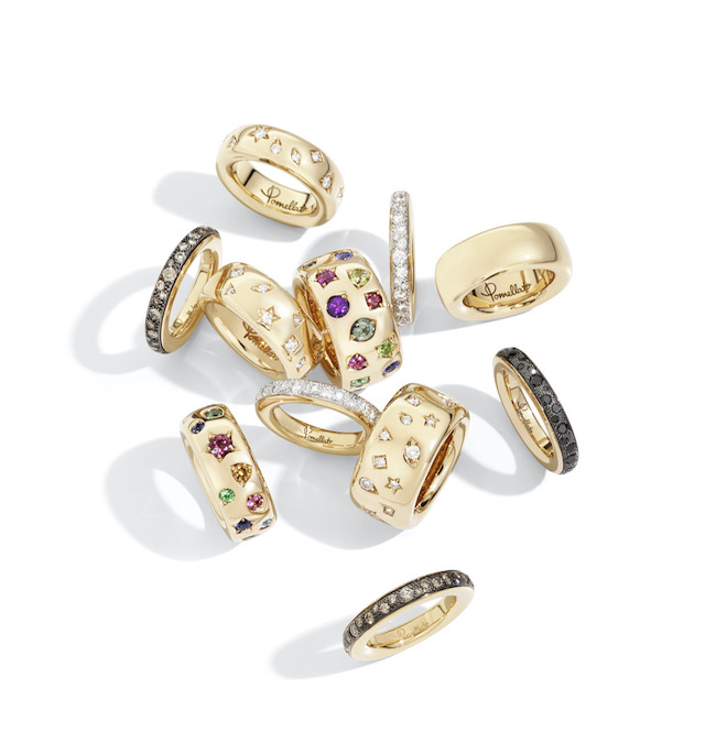 Iconica rings collection by Pomellato