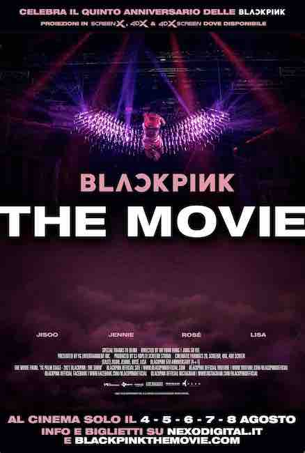 locandina blackpink the movie