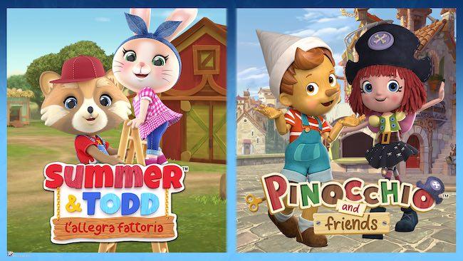 summer & todd, pinocchio