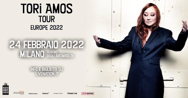tori amos italia 2022