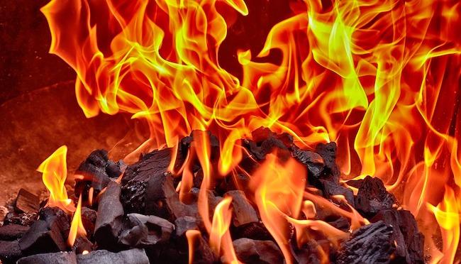 fiamme incendio