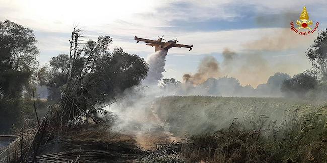Incendi boschivi, dal 15 giugno +16mila interventi rispetto al 2020