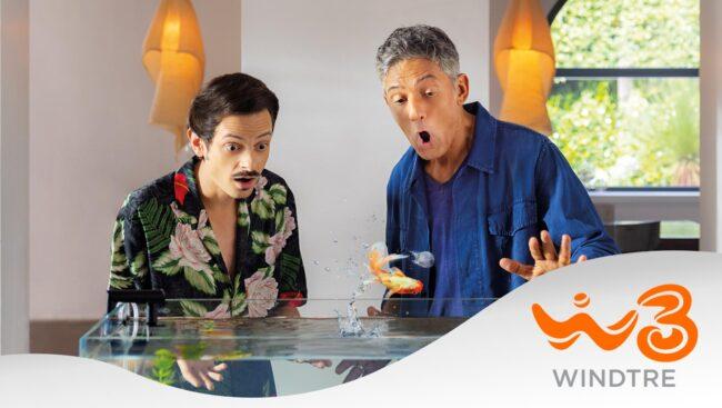 Super Fibra di WindTre, on air un nuovo episodio della campagna con Fiorello e Rovazzi