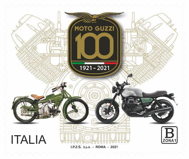 Moto Guzzi francobollo