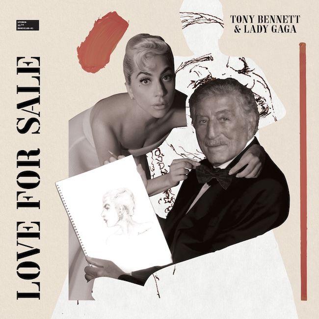 Lady Gaga e Tony Bennett love for sale