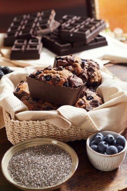 mini plumcake cioccolato