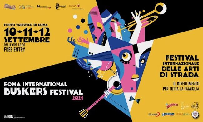 roma international buskers festival 2021