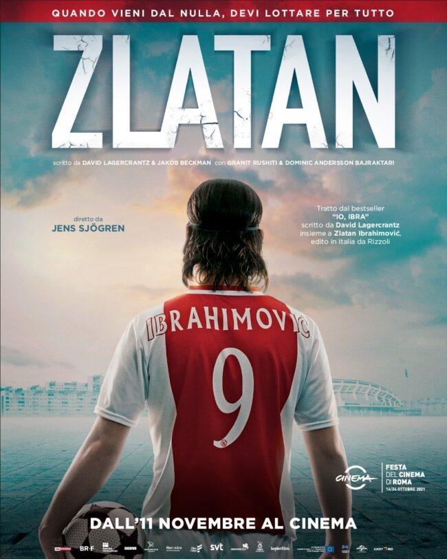 """In uscita al cinema """"Zlatan"""", il film che racconta la vita di Ibrahimovi?"""
