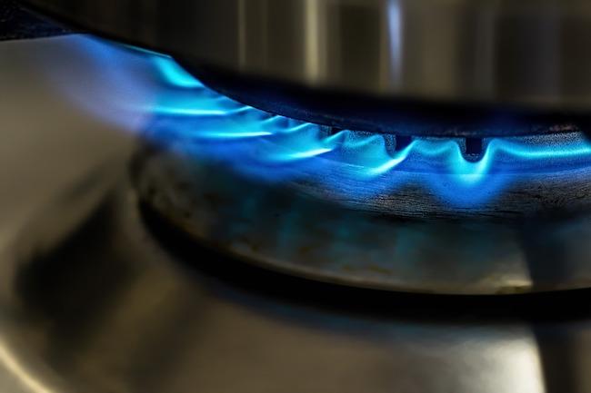 fiamme gas fornello