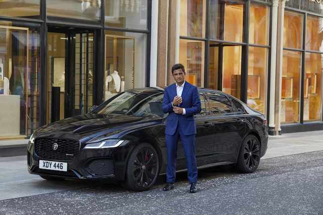 jaguar xf london