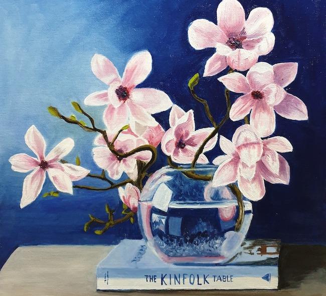 magnolienstrauss