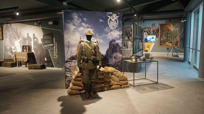 Museo Nazionale Storico degli Alpini sul Doss Trento, anteprima d'apertura