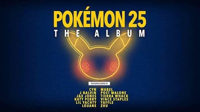 Pokémon 25: The Album: il progetto per l'anniversario