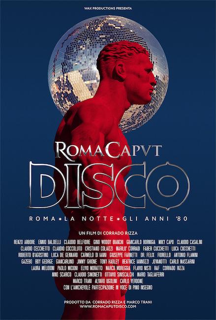 roma caput disco poster