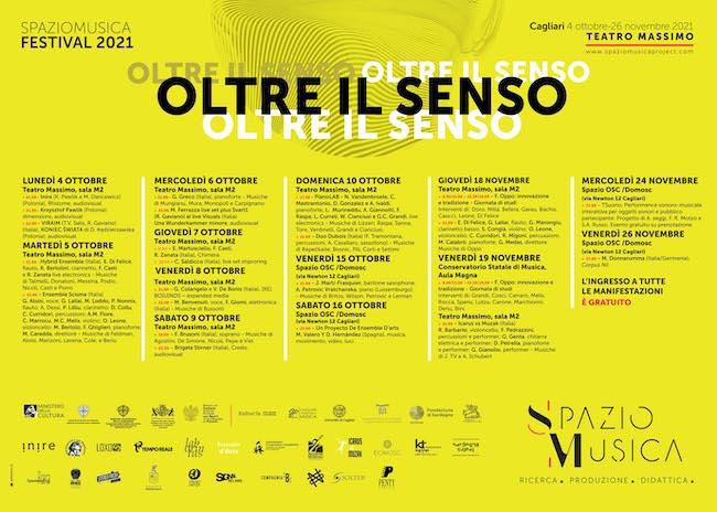 spaziomusica festival 2021 locandina