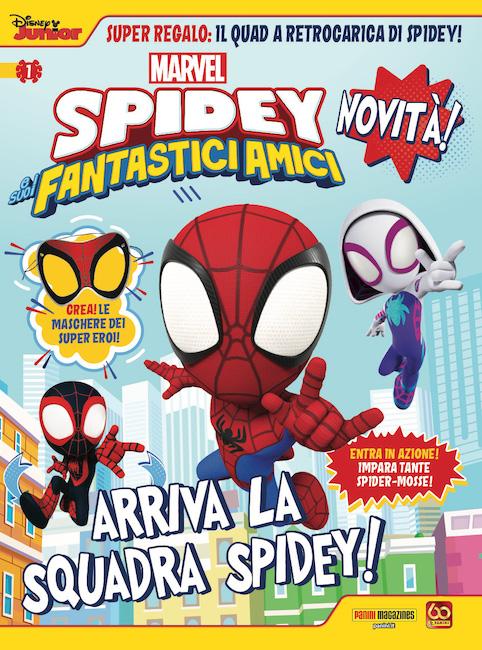 Spidey e i suoi Fantastici Amici: in edicola il primo numero